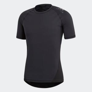 返品可 アディダス公式 ウェア トップス adidas アルファスキン チーム ショートスリーブTシャツ|adidas