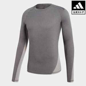 34%OFF アディダス公式 ウェア トップス adidas アルファスキン TEAM ヘザーロングスリーブTシャツ|adidas