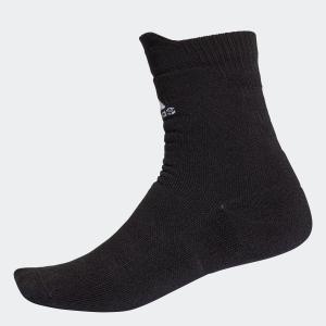 返品可 アディダス公式 アクセサリー ソックス adidas フルクッション クルーソックス /靴下 [アルファスキン/アルファスキンソックス]|adidas