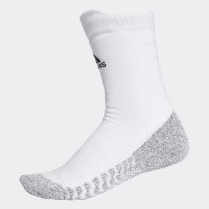 返品可 アディダス公式 アクセサリー ソックス adidas アルファスキン グリップフルクッション クルーソックス|adidas