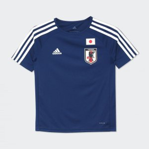セール価格 アディダス公式 ウェア トップス adidas (子供用) No 4 サッカー日本代表 ホームレプリカTシャツ No 4|adidas