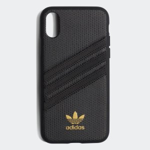 アディダス adidas iPhone X iPhone XS ケース OR Moulded case PU WOMEN blackの商品画像|ナビ