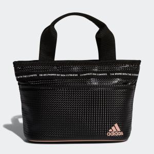 返品可 アディダス公式 アクセサリー バッグ adidas ウィメンズ テープデザインラウンドトート【ゴルフ】 adidas