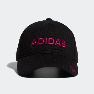 返品可 アディダス公式 アクセサリー 帽子 adidas スクエアキルティングキャップ【ゴルフ】 adidas