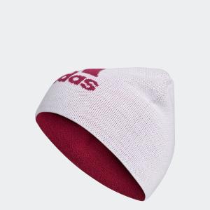 返品可 アディダス公式 アクセサリー 帽子 adidas リバーシブルロゴビーニー【ゴルフ】 adidas