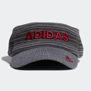 返品可 アディダス公式 アクセサリー 帽子 adidas ロゴニットバイザー【ゴルフ】 adidas