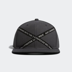 返品可 アディダス公式 アクセサリー 帽子 adidas ADICROSS フラットビルキャップ【ゴルフ】 adidas