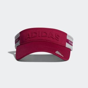 返品可 アディダス公式 アクセサリー 帽子 adidas ウィメンズ テープデザインバイザー【ゴルフ】 adidas