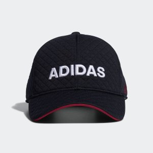 返品可 アディダス公式 アクセサリー 帽子 adidas ウィメンズ キルティングキャップ【ゴルフ】 adidas