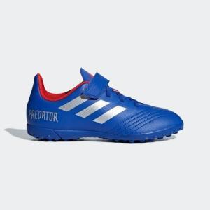 返品可 アディダス公式 シューズ スパイク adidas プレデター 19.4 TF J ベルクロ / フットサル用 / ターフ用|adidas