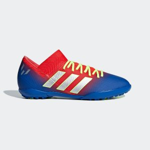 全品ポイント15倍 07/19 17:00〜07/22 16:59 セール価格 アディダス公式 シューズ スポーツシューズ adidas ネメシス メッシ 18.3 TF J / フットサル用 / タ…|adidas