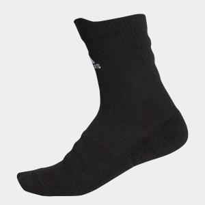 返品可 アディダス公式 アクセサリー ソックス adidas ハーフクッション クルーソックス /靴下 [アルファスキン/アルファスキンソックス]|adidas