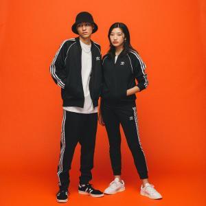 返品可 送料無料 アディダス公式 ウェア ボトムス adidas スリーストライプ トラックパンツ / アディカラー / adicolor|adidas