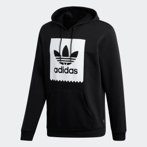 セール価格 アディダス公式 ウェア トップス adidas SOLID BLACKBIRD HOODIE|adidas