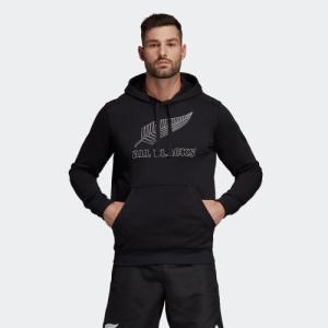 返品可 送料無料 アディダス公式 ウェア トップス adidas オールブラックス サポーターフーディー adidas
