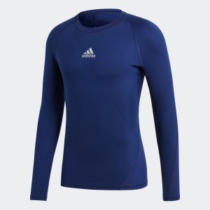 返品可 アディダス公式 ウェア トップス adidas アルファスキン TEAM ロングスリーブシャツ|adidas