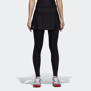 セール価格 アディダス公式 ウェア ボトムス adidas WOMEN BARRICADE スコートレギンス|adidas
