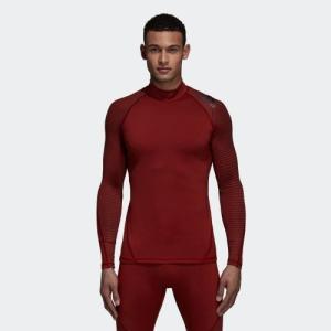 アウトレット価格 アディダス公式 ウェア トップス adidas アルファスキン ATHLETE クライマウォーム ロングスリーブシャツ|adidas