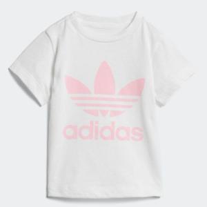 セール価格 アディダス公式 ウェア トップス adidas (子供用)トレフォイルTシャツ [TREFOIL TEE アディカラー/adicolor]