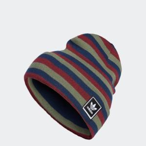 セール価格 アディダス公式 アクセサリー 帽子 adidas STRIPED BEANIE|adidas