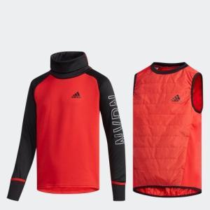 セール価格 アディダス公式 ウェア トップス adidas B TRN CLIMIX 2in1 ストームプルオーバー (裏起毛)|adidas