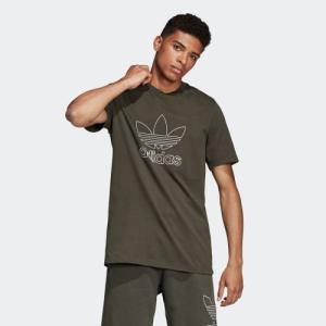 セール価格 アディダス公式 トップス 半袖 adidas OUTLINE Tシャツ[アディカラー/adicolor] adidas
