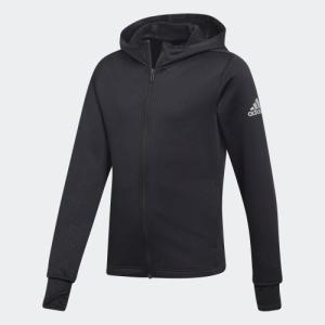 アウトレット価格 アディダス公式 ウェア トップス adidas [オンラインストア限定] 子供用 フルジップパーカー (裏起毛) adidas