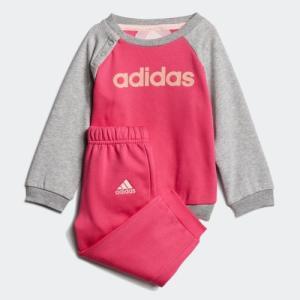 セール価格 アディダス公式 その他 adidas I リニアロゴ クルーネックスウェット上下セット (裏起毛) adidas