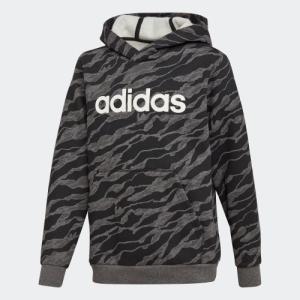 セール価格 アディダス公式 ウェア トップス adidas B ESS リニアロゴ スウェットパーカー CAMO (裏起毛)|adidas
