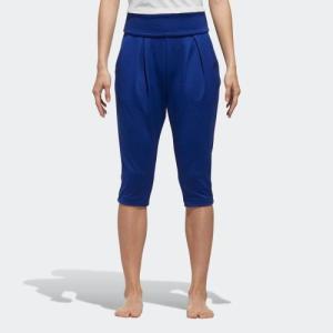 アウトレット価格 アディダス公式 ウェア ボトムス adidas W M4Tトレーニング ニットカプリパンツ YG|adidas
