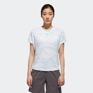 全品送料無料! 08/14 17:00〜08/22 16:59 セール価格 アディダス公式 ウェア トップス adidas W M4Tトレーニング 総柄Tシャツ|adidas