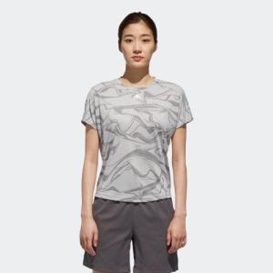 セール価格 アディダス公式 ウェア トップス adidas W M4Tトレーニング 総柄Tシャツ|adidas