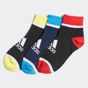 セール価格 アディダス公式 アクセサリー ソックス adidas 子供用 3P ショートソックス /靴下|adidas
