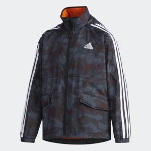 セール価格 アディダス公式 ウェア トップス adidas B adidasDAYS ウインドブレーカー ジャケット (裏起毛)|adidas