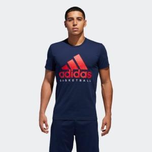 全品送料無料! 6/21 17:00〜6/27 16:59 セール価格 アディダス公式 ウェア トップス adidas ADIDAS BASKETBALL LOGO Tシャツ|adidas
