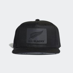 セール価格 アディダス公式 アクセサリー 帽子 adidas オールブラックス フラットキャップ/帽子 adidas