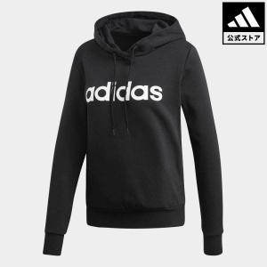 返品可 アディダス公式 ウェア トップス adidas W E リニア フリース|adidas