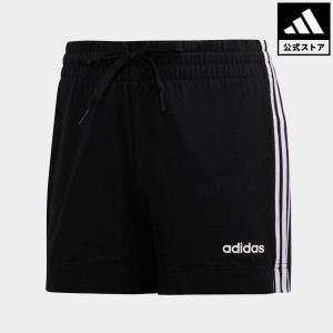 返品可 アディダス公式 ウェア ボトムス adidas W 3ストライプス ショートパンツ|adidas