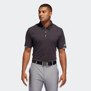 セール価格 アディダス公式 ウェア トップス adidas クライマチル ストライプ 半袖ボタンダウンシャツ 【ゴルフ】|adidas