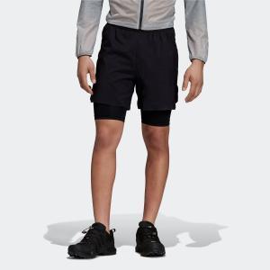 返品可 送料無料 アディダス公式 ウェア ボトムス adidas アグラヴィック 2in1 ショーツ|adidas