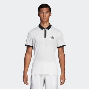 返品可 アディダス公式 ウェア トップス adidas ESCOUADE ポロシャツ|adidas