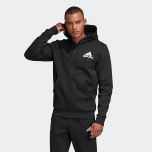 セール価格 アディダス公式 ウェア トップス adidas MUSTHAVES ベーシック ダブルニットスウェット フルジップパーカー|adidas