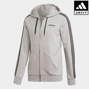 返品可 アディダス公式 ウェア トップス adidas 3ストライプス フルジップーパーカー (裏毛)|adidas