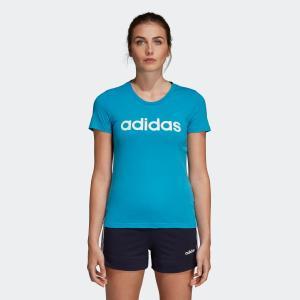 セール価格 アディダス公式 ウェア トップス adidas W 半袖 リニア コットン Tシャツ adidas