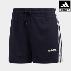 返品可 アディダス公式 ウェア ボトムス adidas W 3ストライプス ショートパンツ adidas