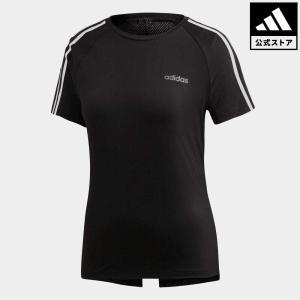 全品送料無料! 07/19 17:00〜07/26 16:59 返品可 アディダス公式 ウェア トップス adidas W CORE D2M 半袖Tシャツ 3ストライプス|adidas