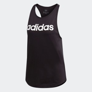 返品可 アディダス公式 ウェア トップス adidas W リニア ルーズタンク adidas