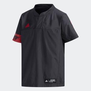 全品ポイント15倍 07/19 17:00〜07/22 16:59 セール価格 アディダス公式 ウェア アウター adidas 子供用 ウィンドブレーカー半袖|adidas