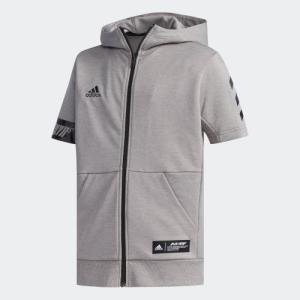 全品ポイント15倍 07/19 17:00〜07/22 16:59 セール価格 アディダス公式 ウェア トップス adidas 子供用 半袖スウェットJr|adidas