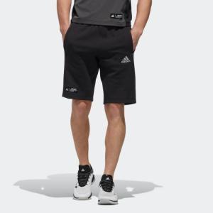返品可 アディダス公式 ウェア ボトムス adidas スウェットハーフパンツ|adidas